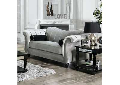 Marvin Gray Loveseat