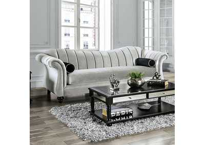Marvin Gray Stationary Sofa