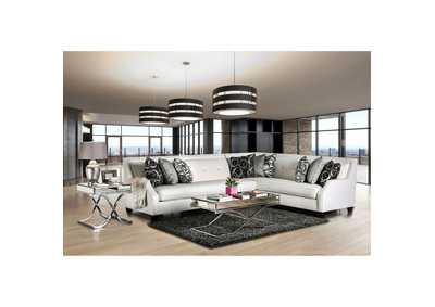 Betria Silver Sectional