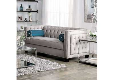 Silvan Gray Loveseat