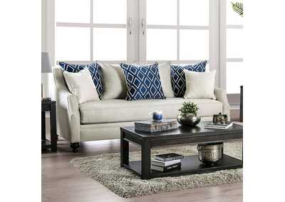 Nefyn Ivory Sofa,Furniture of America