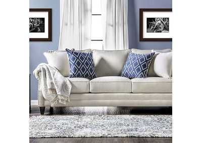 Giovanni Beige Sofa,Furniture of America
