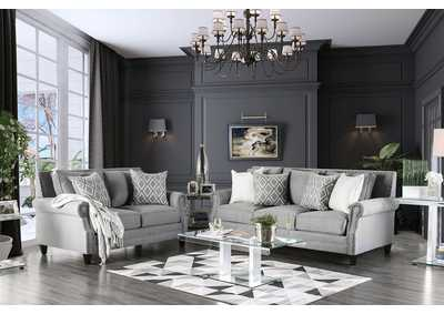 Giovanni Gray Sofa,Furniture of America