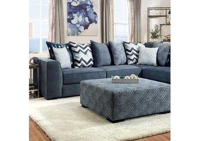 Image for Brielle Blue Sectional