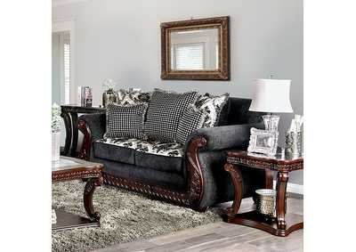 Whitland Gray Loveseat