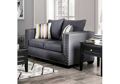 Inkom Slate Loveseat,Furniture of America