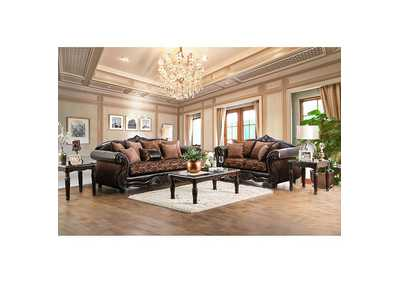 Image for Elpis Brown Sofa and Loveseat