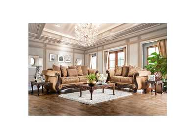 Image for Nicanor Gold Sofa