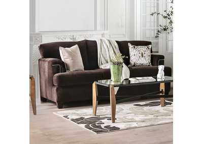 Image for Brynlee Chocolate Sofa