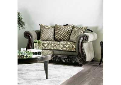 Justina Gray Loveseat