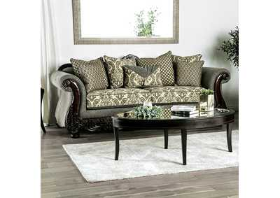 Justina Gray Sofa,Furniture of America