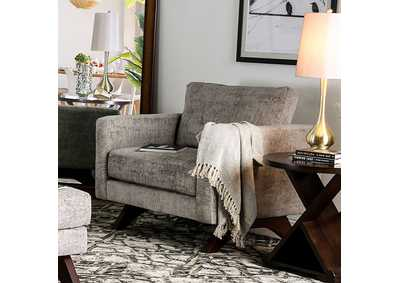 Harlech Gray Chair,Furniture of America