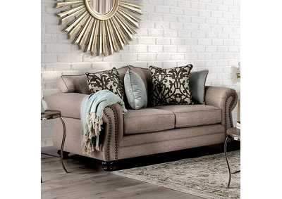 Image for Jarauld Brown Loveseat