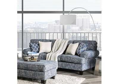Pierpont Blue Sofa