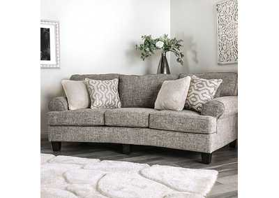 Pierpont Gray Sofa,Furniture of America