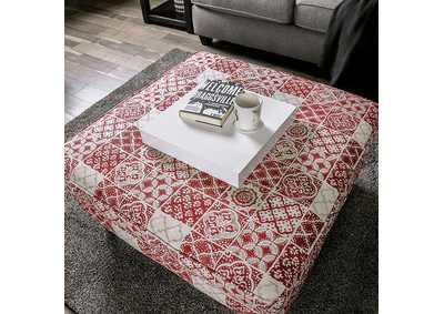 Ames Ottoman,Furniture of America