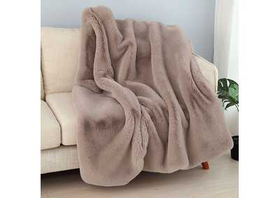 Caparica Blush Throw Blanket