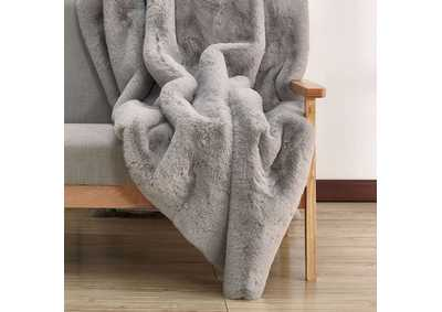 Caparica Gray Throw Blanket