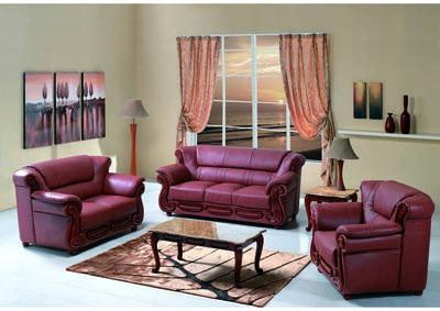Image for Brown Bonded Leather Sofa