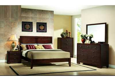 Image for Brown Cherry Dresser w/Mirror