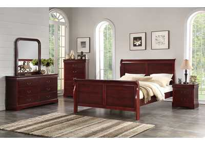 Image for Cherry Dresser w/Mirror