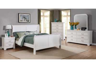Image for White Dresser w/Mirror