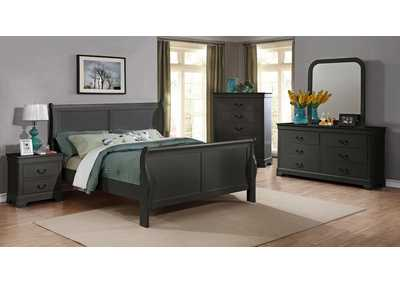 Image for Gray Dresser w/Mirror