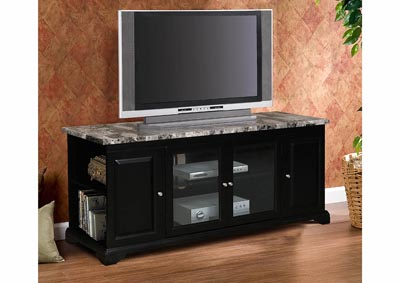 "Black 62"" Inch TV Stand"
