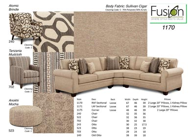 Image for Sullivan Cigar Sullivan Cigar Sectional