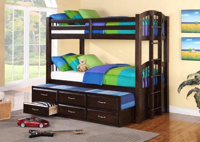 Image for Espresso Jerry Bunk Bed