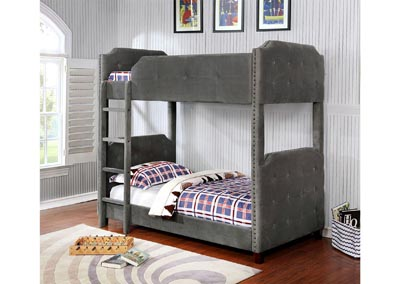 Image for Gray Bunk Bed