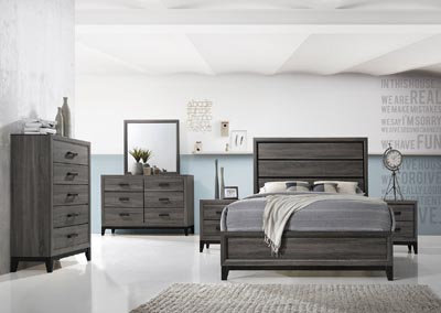 Image for Sierra Foil Grey Dresser and Mirror