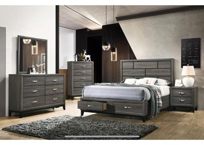 Image for Hudson Gray Queen Bed