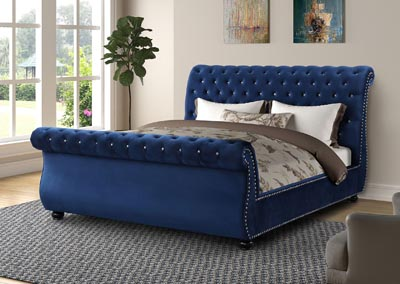 Image for Kendall Blue Queen Bed