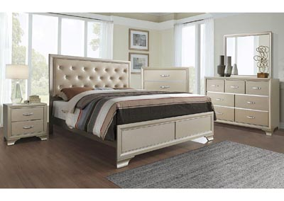 Image for Logan Champagne King Bed