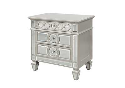 Image for Symphony Silver Nightstand