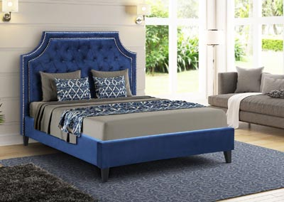 Image for Wilson Blue King Bed