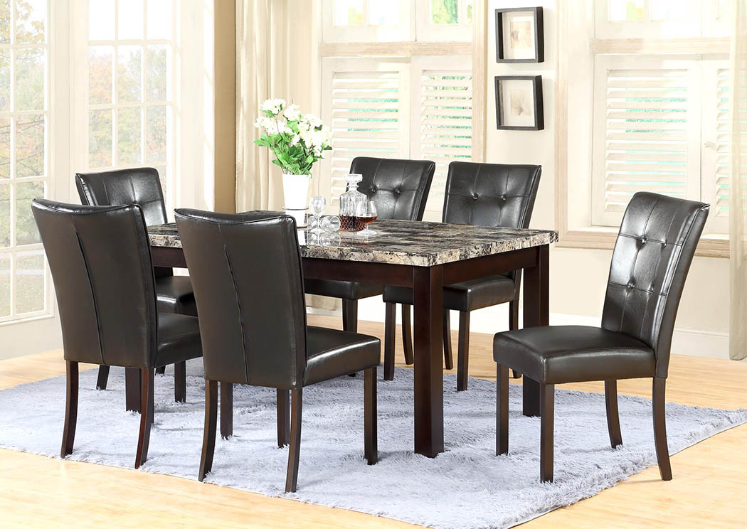 Faux Marble Dinette (Set of 5),Global Trading