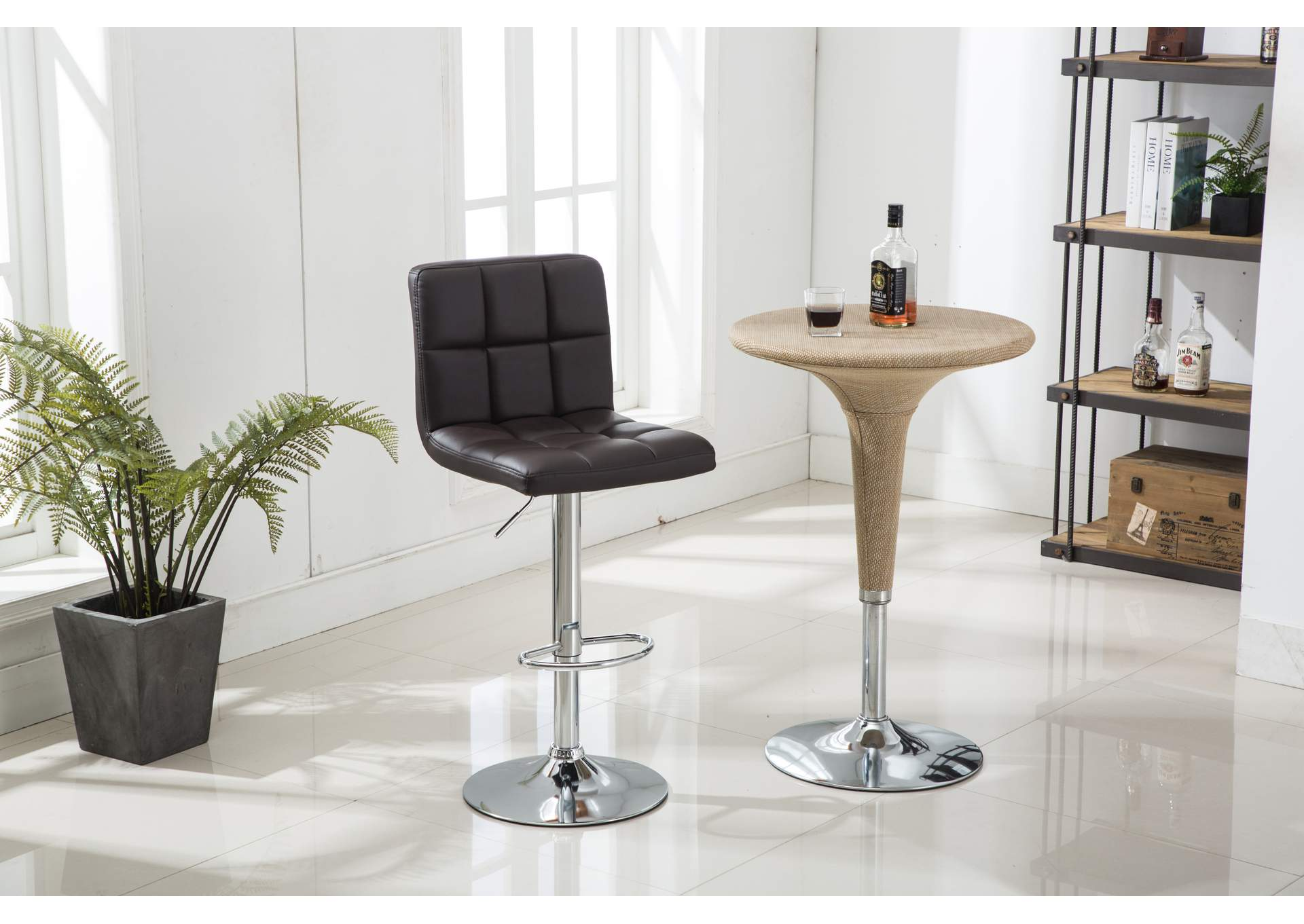 Chocolate Bar Stool (2 In 1 Box),Global Trading