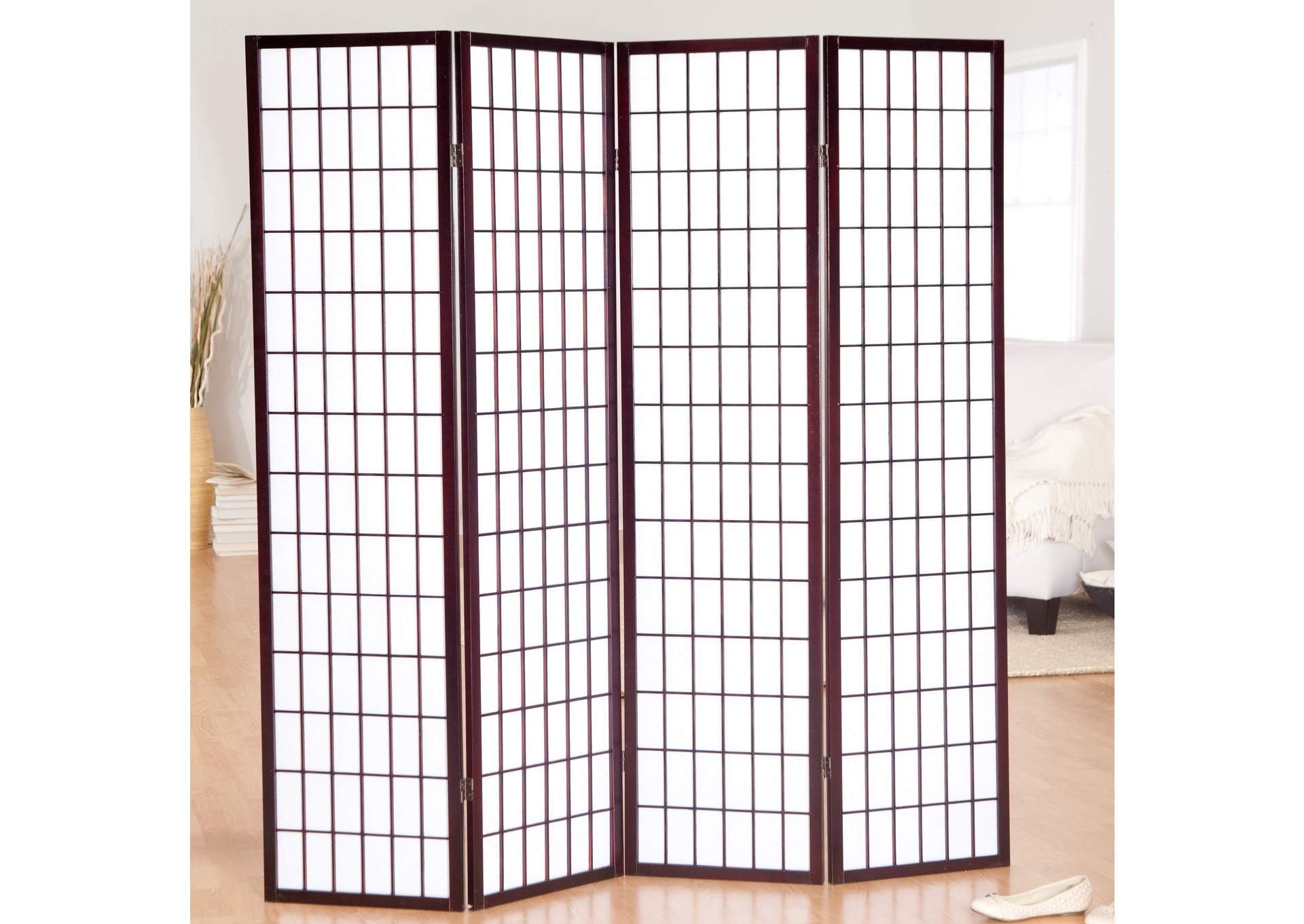 Cherry 3 Panel Screen,Global Trading