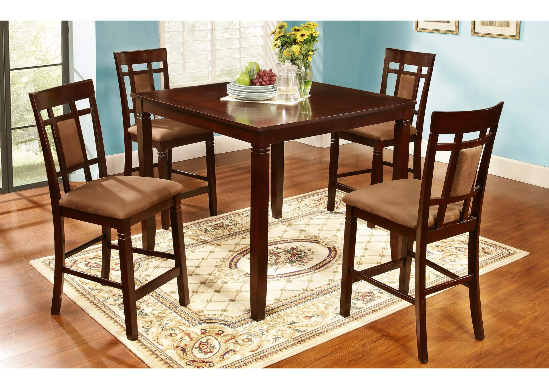 Counter Height Set (Set of 5),Global Trading