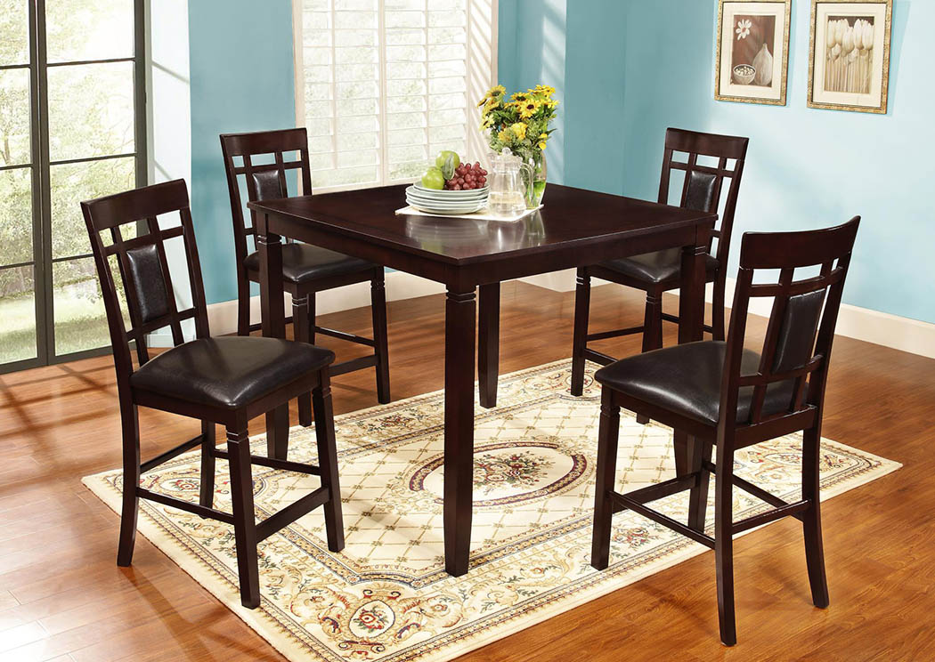 Counter Height Set(Set of 5),Global Trading