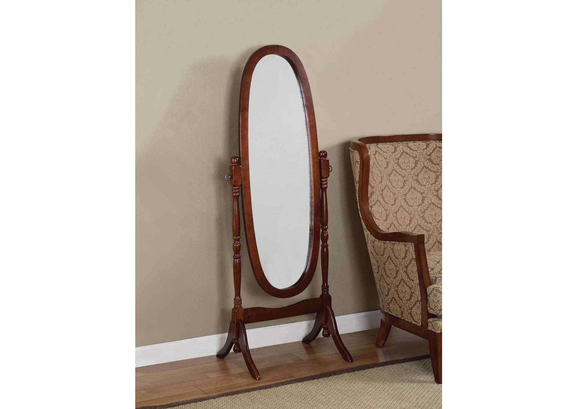 Cherry Cheval Mirror,Global Trading