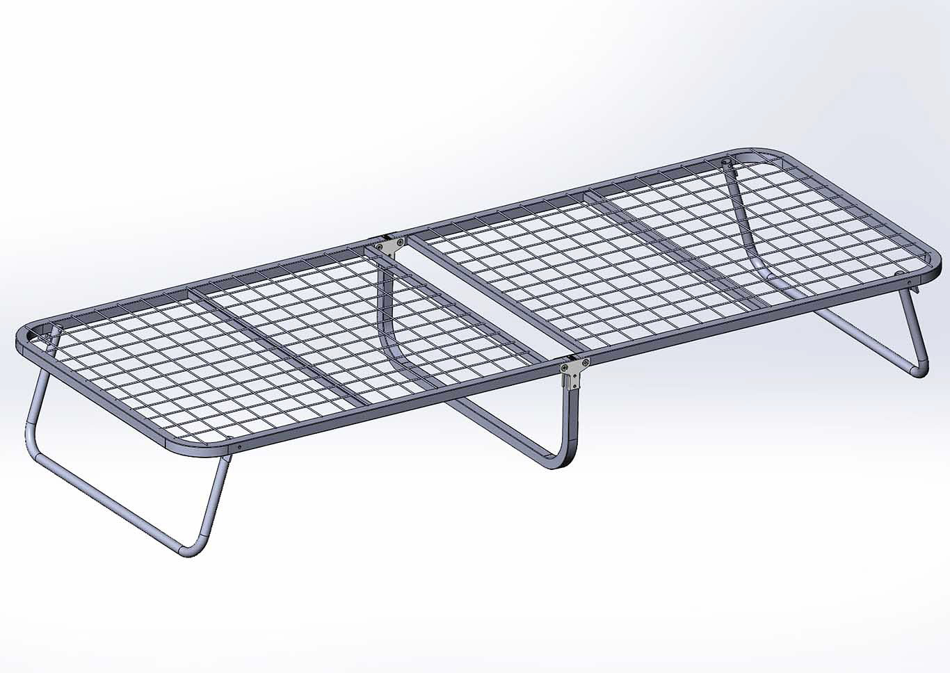 Grey Portable Folding Bed,Global Trading