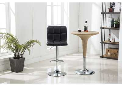 Black Bar Stool (2 In 1 Box)