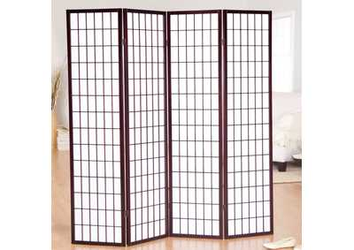 Image for Cherry 4 Panel Divider Screen