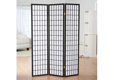 Image for Black 3 Panel Screen