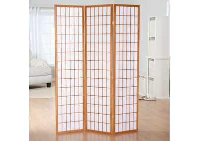 Natural 3 Panel Screen