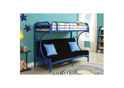 Blue Twin/Futon Bunk Bed