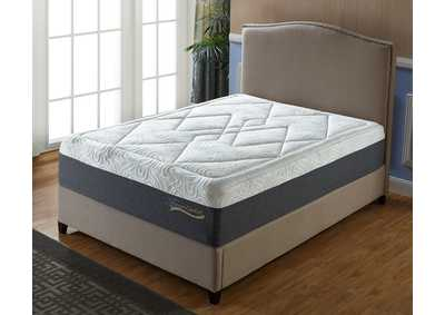 Grey 14'' Gel Memory Form King Mattress